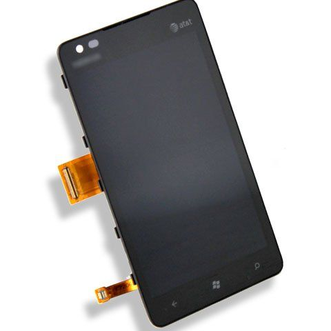 Black Friday Original Genuine OEM Full LCD Display Monitor Touch Screen Digitizer Flex Cable Black Lens Repair For att Nokia Lumia 900 from Nokia