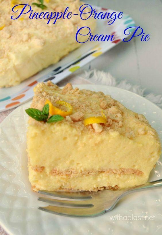 jello pineapple tart recipe orange no bake desserts milk orange juice ...