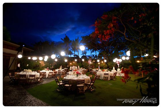 Garden Lawn Reception - Flowers by Heidi
