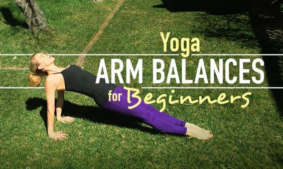 Arm balances can be intimidating to some beginners because it requires upper body strength to hold yourself up. Here are modifications that will help.