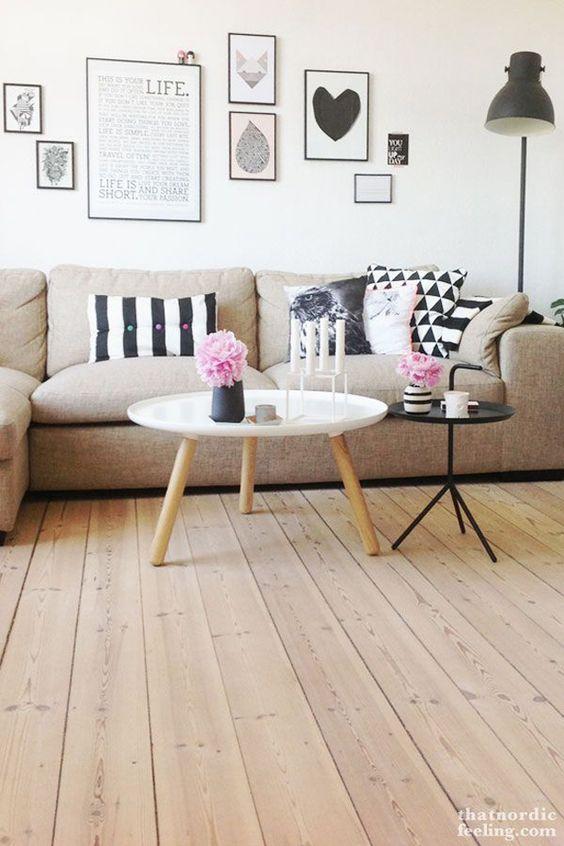 Salón: decorar la mesa de centro | Estilo Escandinavo