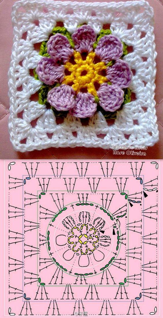Minha Casinha Rosa: Variedades de crochê.