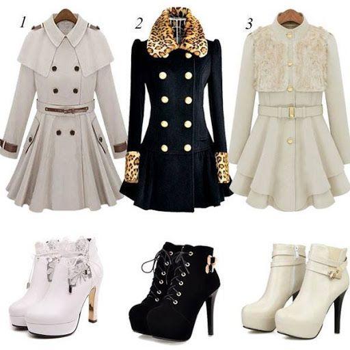 Cuál conjunto te gusta más???? www.yoamoloszapatos.com | Yo Amo los Zapatos