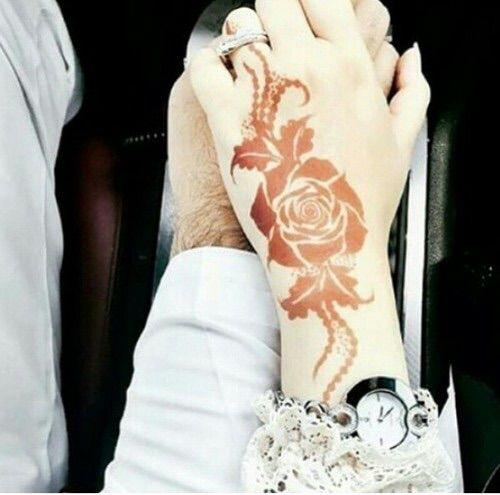 Mehndi We Heart It : Simple henna mehndi and we on pinterest