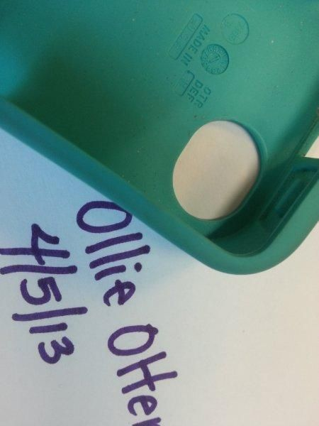 Otterbox will place your worn out rubber for FREE