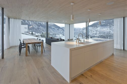 Minergie Haus In Der Schweiz Minergie Haus In Der Schweiz Islas De Cocina Cocinas Modernas Cocinas Europeas