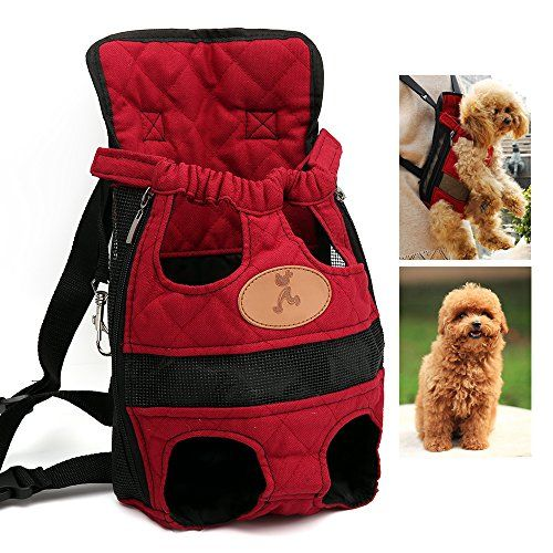 Retro Pug Pet Carrier Backpack Front Pack Airline Approved