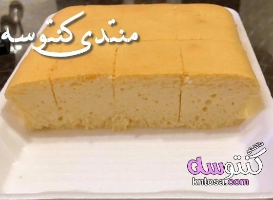 سر نجاح التشيز كيك الياباني طريقة عمل الكيكة اليابانية ولا اروع تتشيز كيك ياباني سريع بالصور Kntosa Com 12 18 154 Desserts Food Cheesecake