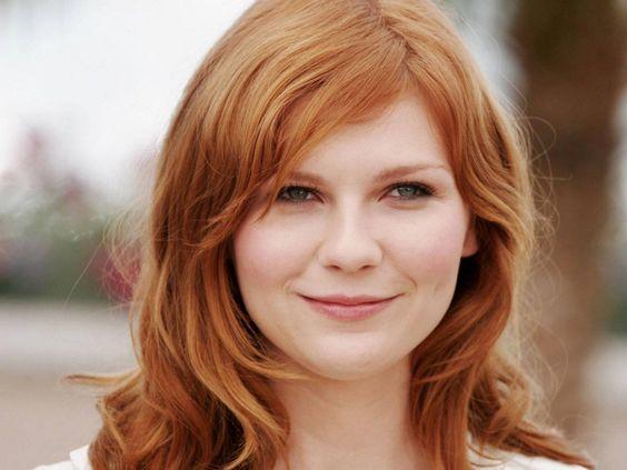 Kirsten Dunst - Rosto redondo