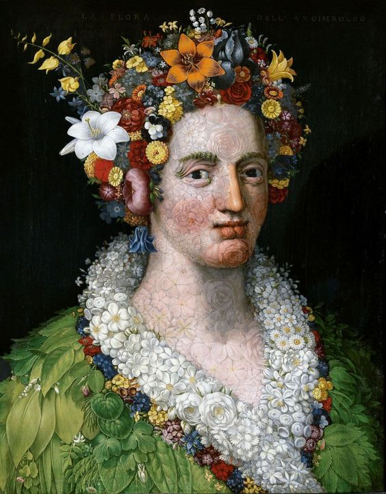 This Renaissance painter made insanely detailed portraits out of fruit, vegetables and fish