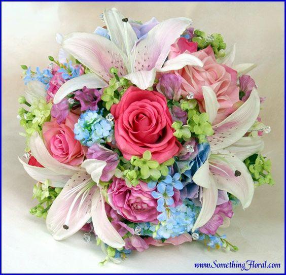 Wedding Flowers Warren Mi : Pastel pink blue and ranunculus on