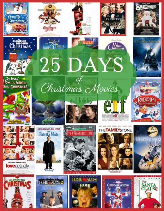 List of christmas movies, Christmas movies and 25 days of ...