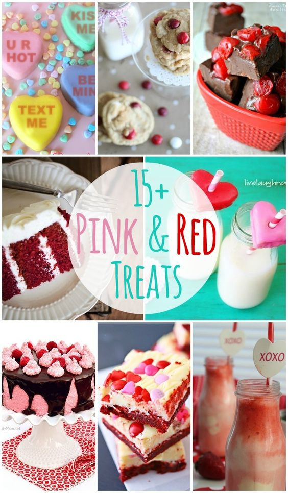 15+ Pink and Red Treats for Valentine's Day!! { lilluna.com }