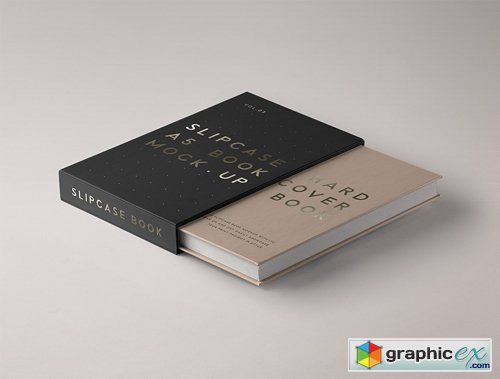Download Psd Slipcase Book Mockup Vol 3 Books Book Care Text Layout