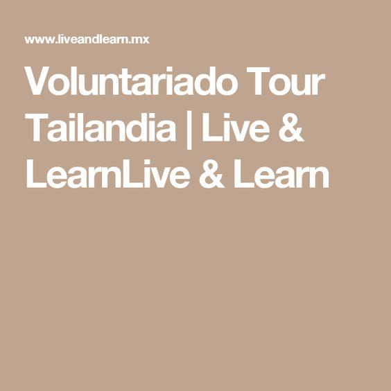 Voluntariado Tour Tailandia | Live & LearnLive & Learn