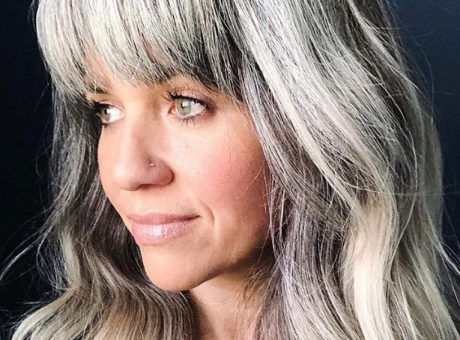 Why And How To Go Gray With Long Hair Graues Ombre Haar