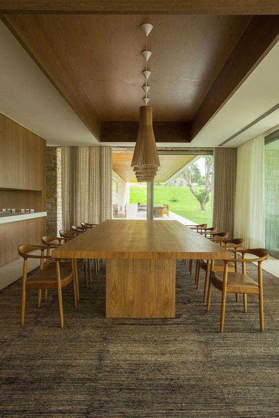 Mesa jantar - residência itatiba