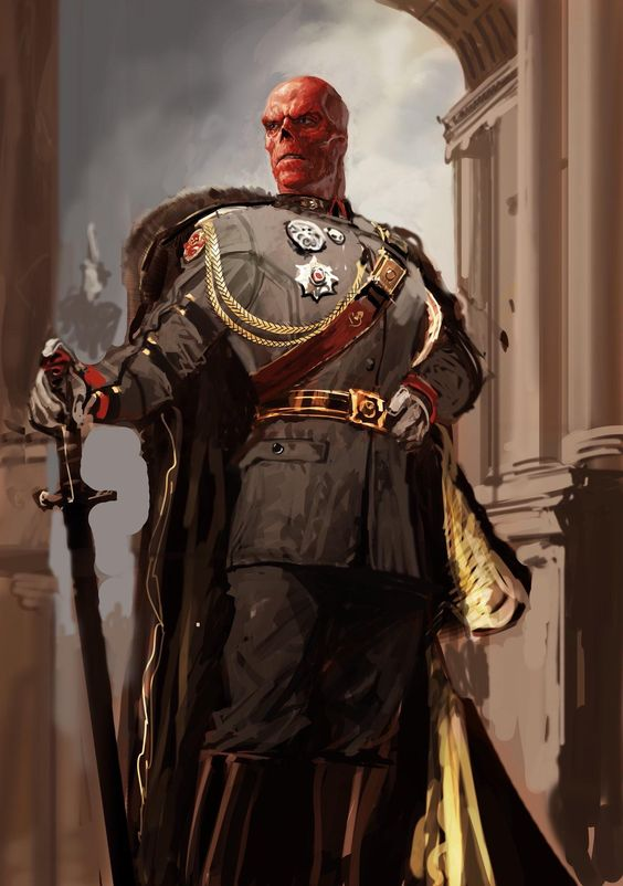 Unused concept art of a portrait of the Red Skull from CAPTAIN AMERICA: THE FIRST AVENGER (via @MeinerdingArt)