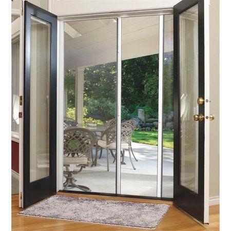Larson Escape Retractable Screen Door Walmart Com In 2020 Retractable Screen Door French Doors Exterior French Doors Interior