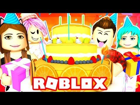Roblox Family Funneh S Huge Birthday Surprise Party Roblox