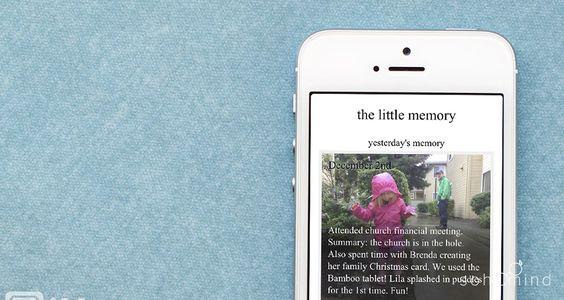 Si tú eras de los que hacia un pequeño diario para registrar el paso de sus días, ahora puedes retomarlo con la #App #TheLittleMemory