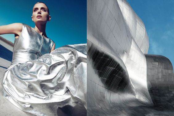 Uncanny combinations of fashion imagery with random photos >> http://fineprintnyc.com/blog/where-i-see-fashion