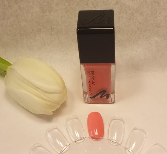 "alldaysDesigner Blog: MANHATTAN LAST & SHINE NAGELLACK ""LOVE PEACH"""