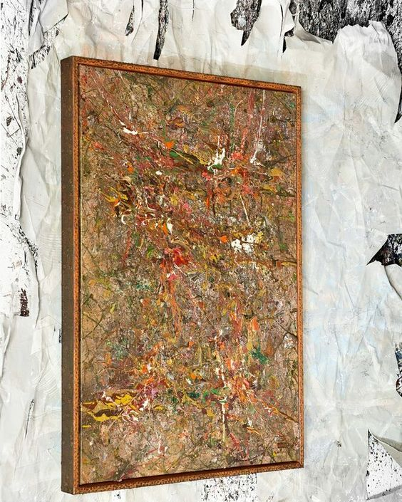 "Object: ""Angenehme Eigenschaften der Bourgeoisie"" 2015 wood canvas acrylic and spray paint cork sawdust  coconut and walnut shells  #isterika_art #abstractart #abstract #abstraktekunst #modernart #contemporaryart #artecontemporanea #abstractexpressionist #abstractors_anonymous #talnts #modernart #ratedmodernart #talentedpeopleinc #artwork #themostfamousartist #artist_features by isterika.art"