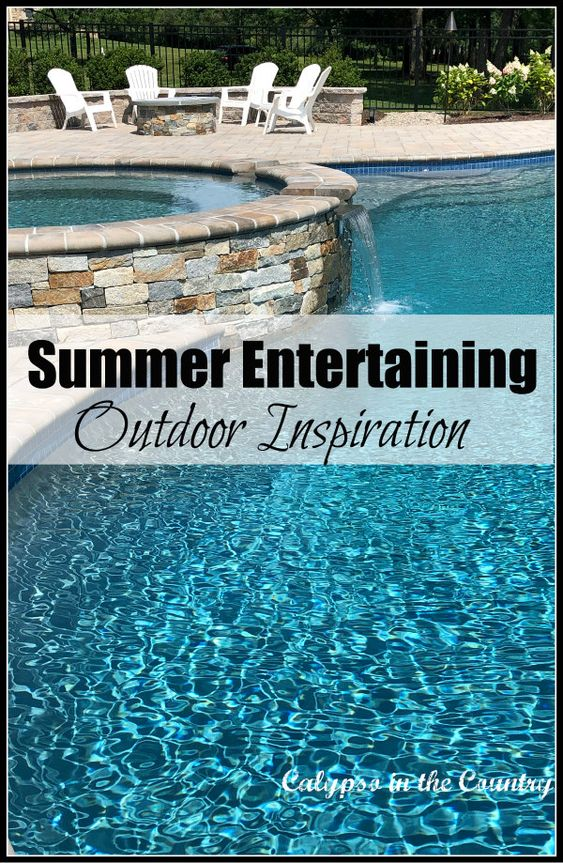 Summer Entertaining – New Patio and Pool