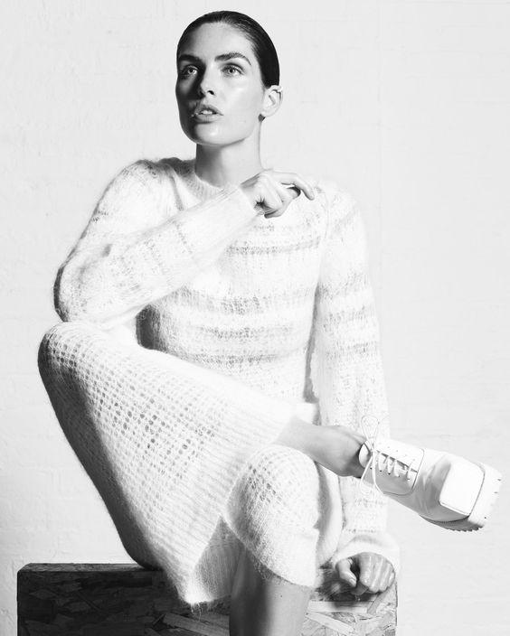 Hilary Rhoda by Paola Kudacki for Heroine Magazine Fall Winter 2014