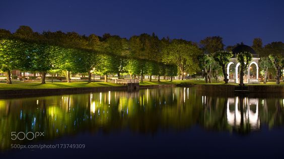 Popular on 500px : Darkness In The Park by avelizhanin