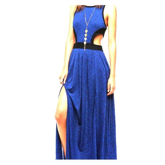 Silence & Noise maxi dress Maxi dress with side cut outs and front slits. Size medium. Worn once. Urban Outfitters Dresses Maxi