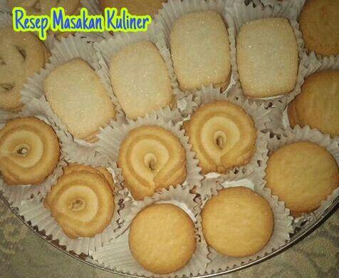 Resep Monde Butter Cookies Resep Kue Resep Biskuit Kue Lemon