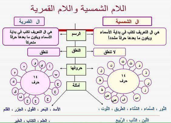 اللام القمرية واللام الشمسية موارد المعلم Arabic Alphabet For Kids Learning Arabic Arabic Handwriting