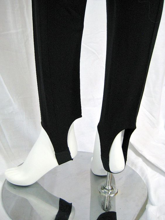 Who didn't wear stirrup pants in the 50s and 60s and then again in the 80s and 90s?