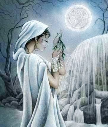 Airmid is the Goddess of Herb-lore and Herbal Healing. She is the daughter of Dian Cecht, the Tuatha De Danaan's head healer. She knows all the lore, uses, and properties of every herb. She also guarded the Well of Slaine.: