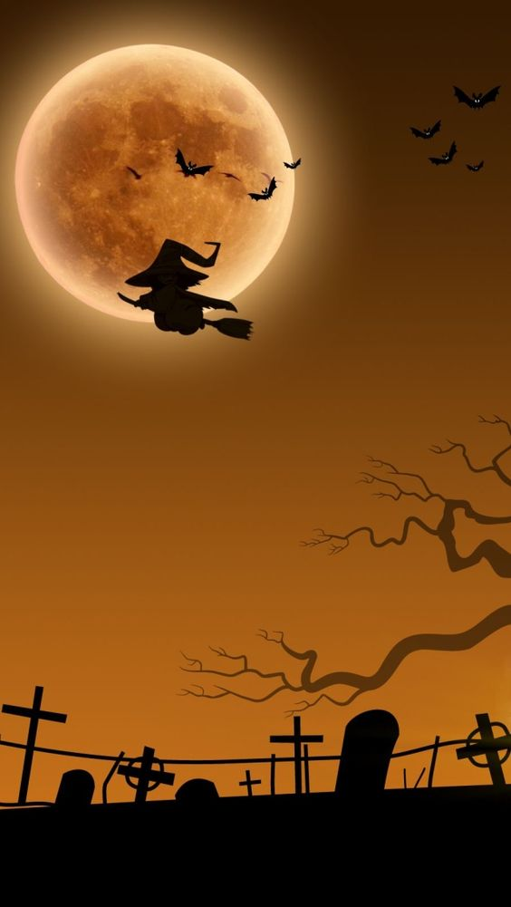 iPhone 5 Wallpaper: Halloween: