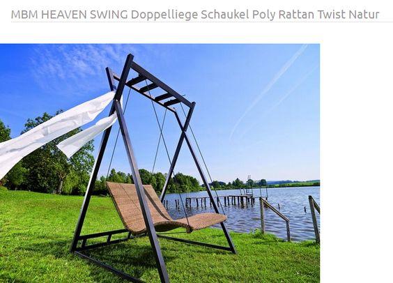 MBM Heaven Swing Schaukel | Gartenschaukel | Sonnenliege | Bilder ...