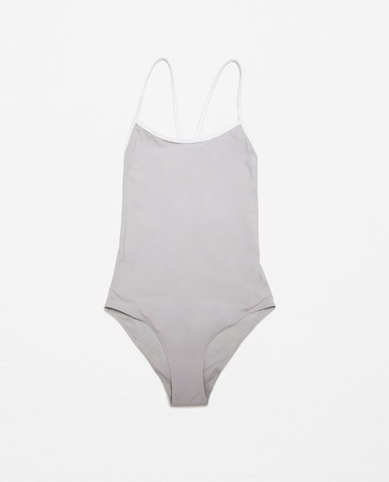 Image 3 of SPORTS SWIMSUIT from Zara