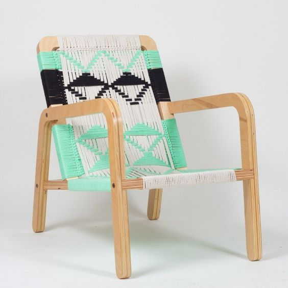 Pacific Wonderland Macrame Palapa Chair