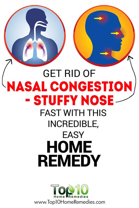 how to clear sinus congestion fast