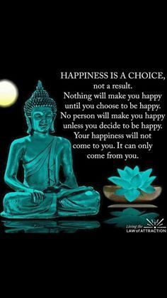 your happiness is a choice