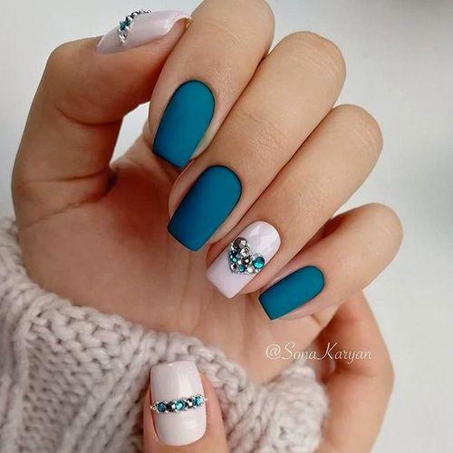 Best Spring Nails 31 Best Spring Nails For 2020 Blue Nails