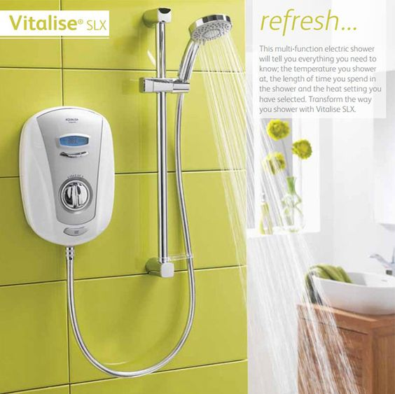 Aqualisa Vitalise SLX electric shower from £159 at The Shower Doctor