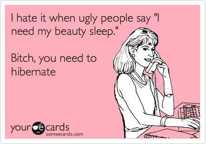 So mean, but kinda true?