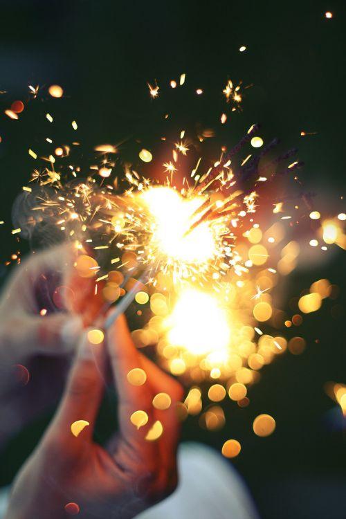 Sparklers.: