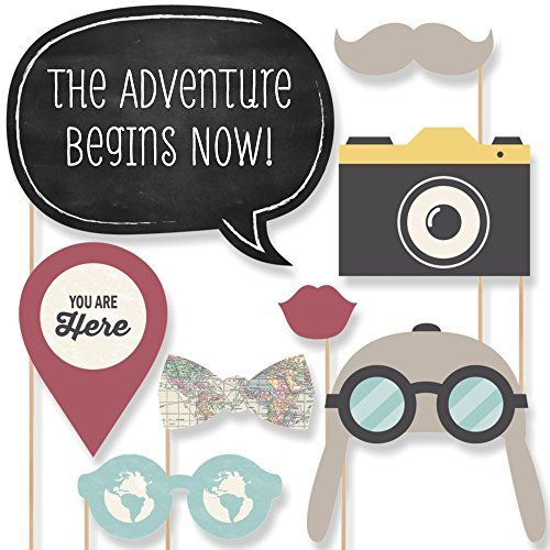 World Awaits - Travel Party Photo Booth Props Kit - 20 Count Big Dot of Happiness http://www.amazon.com/dp/B00UKCN2GW/ref=cm_sw_r_pi_dp_bMnVwb1CA9FWB