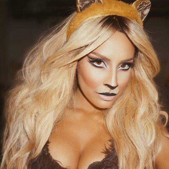 I'm a lion. Duh  #desimakeup