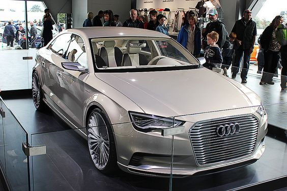 the audi a3 e tron is an a3 hybrid concept which features updated looks including a new saloon. Black Bedroom Furniture Sets. Home Design Ideas