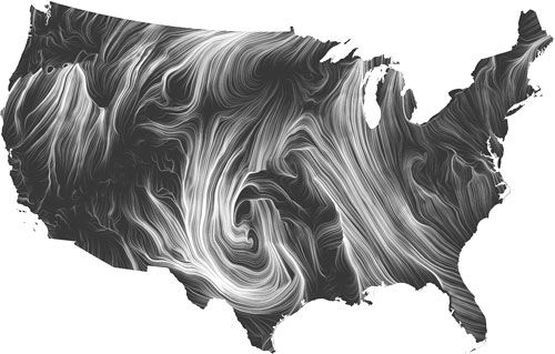 Más De Ideas Increíbles Sobre Wind Map En Pinterest Mapa De - Us current wind map